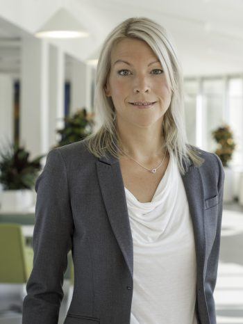Annika Kristersson, presschef Folksam med dotterbolag