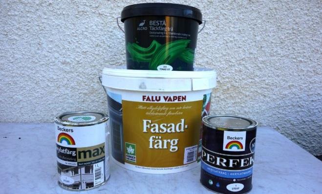 Undvik möglande husfärg – följ hur det går i Folksams nya test