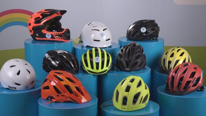 Stor skillnad på de populäraste cykelhjälmarna i Folksams test