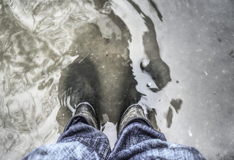 Stor risk för översvämningsskador vid skyfall i torkans spår