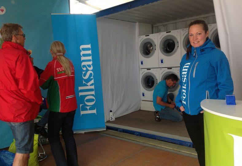 Folksam ger råd, vård och rena kläder till O-Ringens deltagare