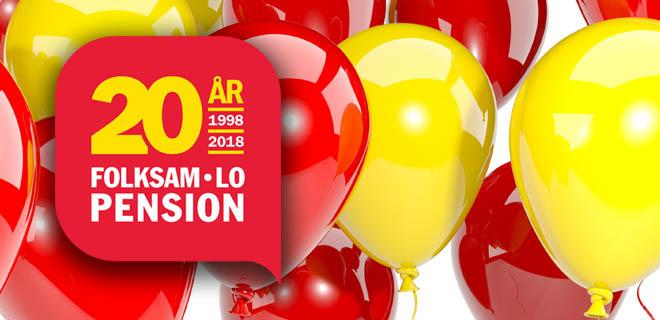 Folksam LO Pension 20 år