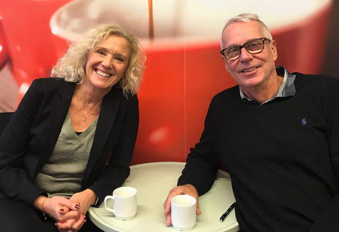 Lena Ekerdal och Per Westerståhl.
