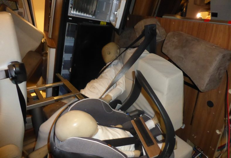 Barnsäkerheten eftersatt i husbilar