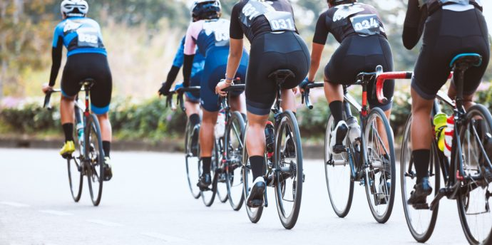 Tävlingscyklister