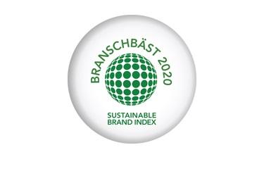 Bäst i branschen på hållbarhet